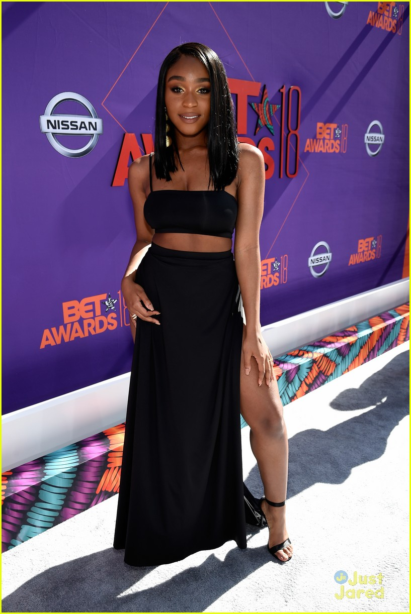 normani bet awards rdmas janet jackson impact award pics 02