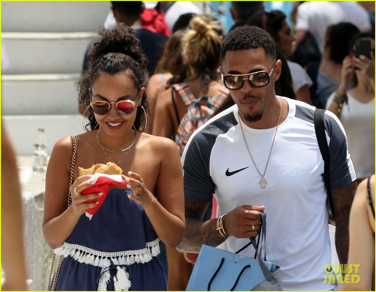 leigh anne pinnock and boyfriend andre gray enjoy mykonos vacation 02