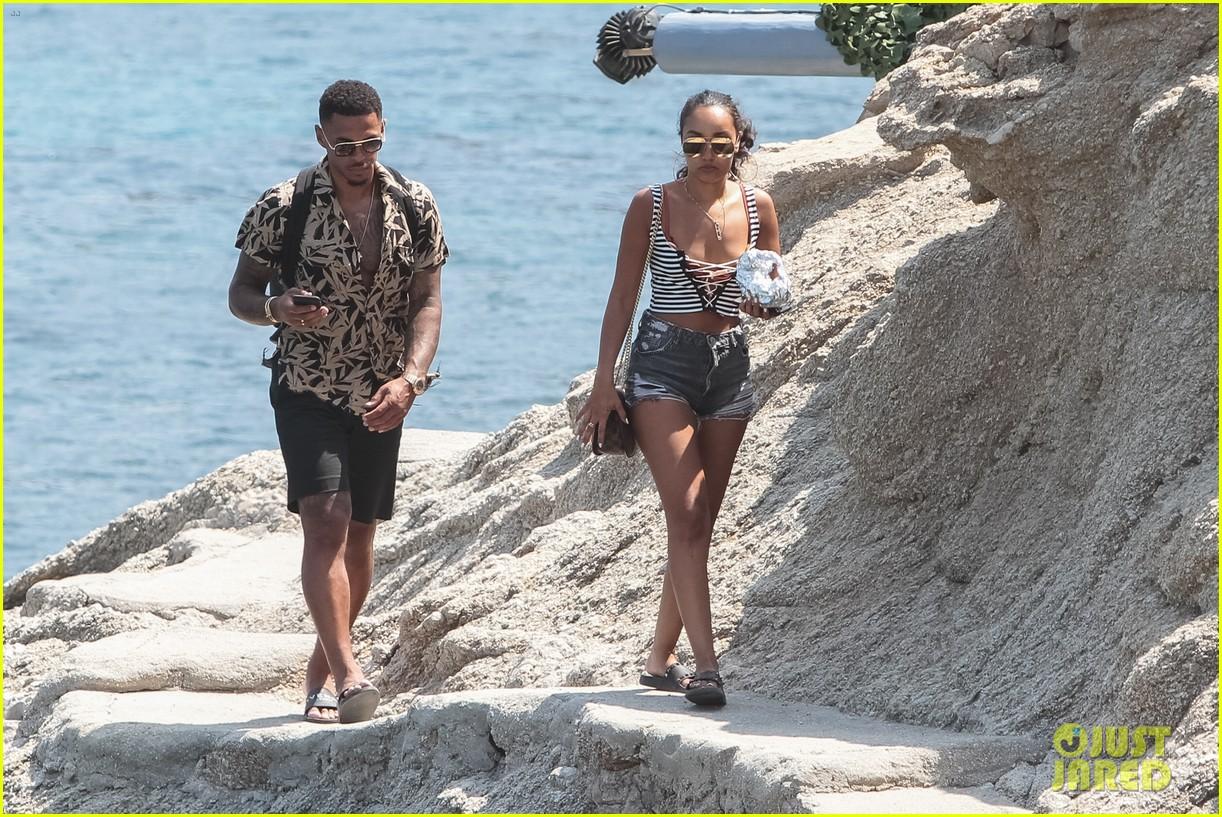 leigh anne pinnock and boyfriend andre gray enjoy mykonos vacation 03