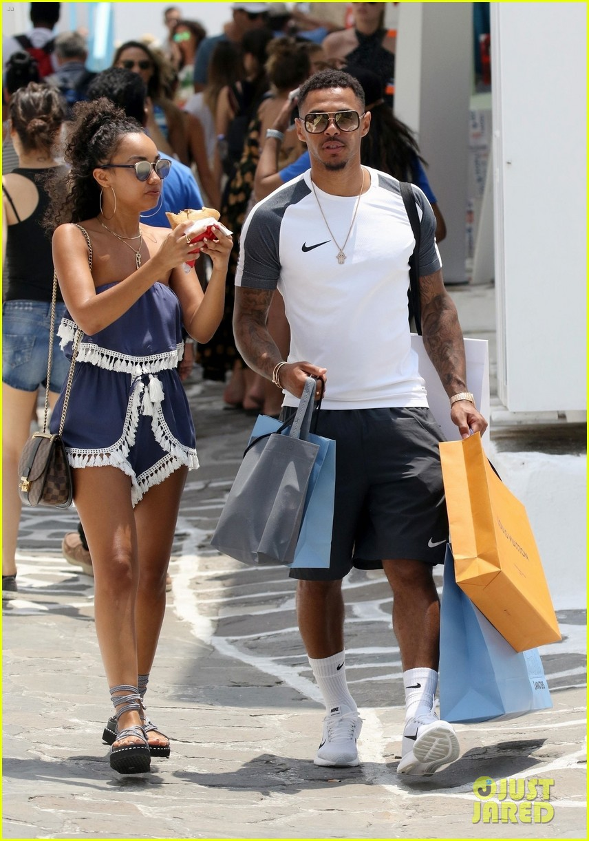 leigh anne pinnock and boyfriend andre gray enjoy mykonos vacation 04