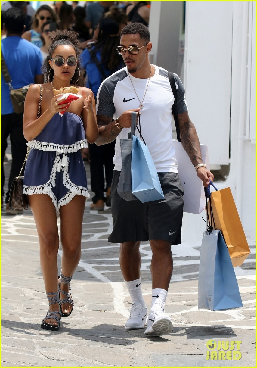 leigh anne pinnock and boyfriend andre gray enjoy mykonos vacation 06