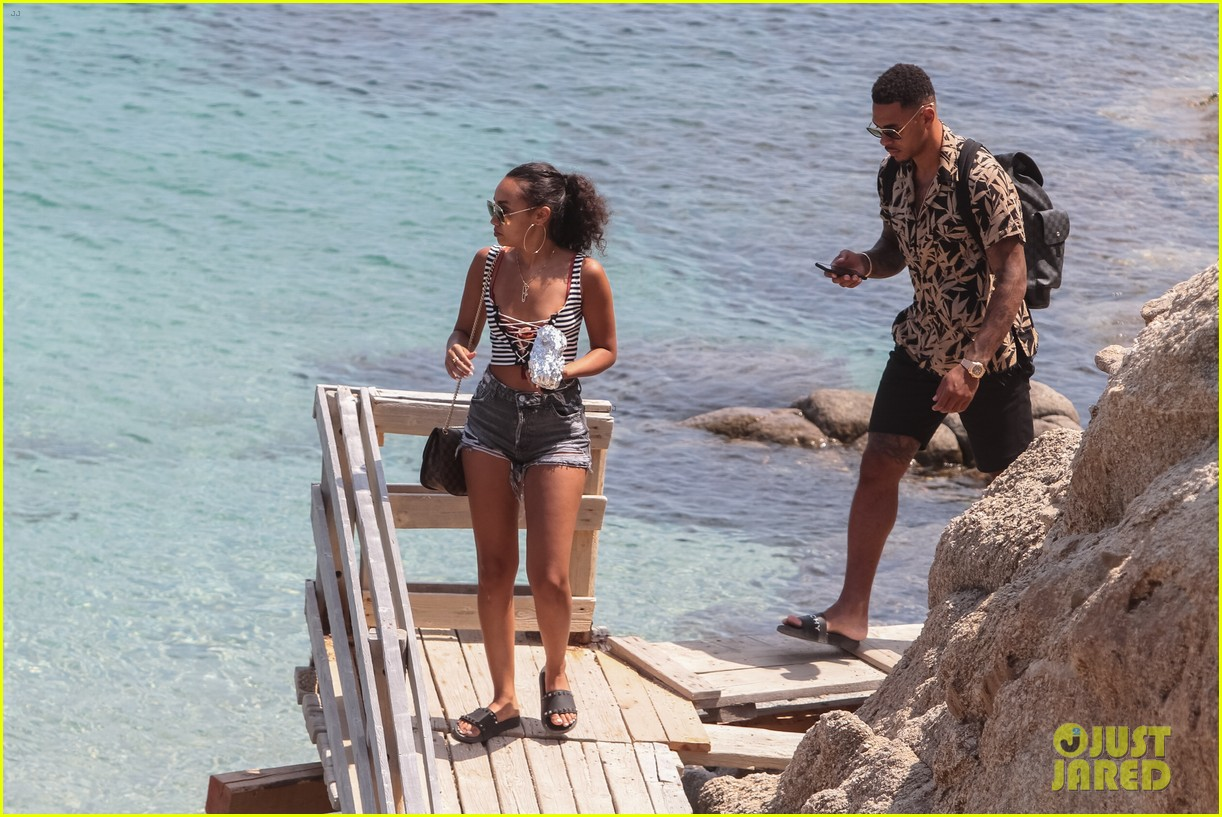 leigh anne pinnock and boyfriend andre gray enjoy mykonos vacation 07