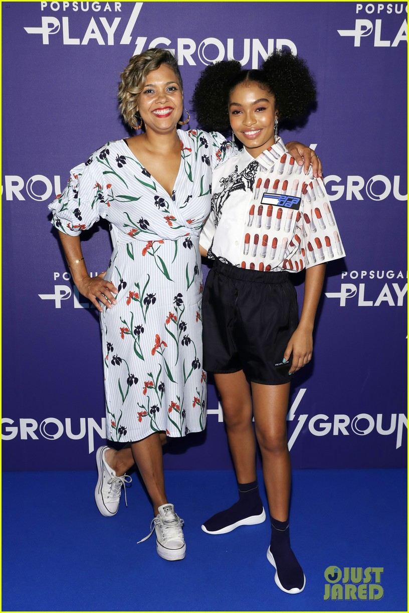 yara shahidi and katie stevens have a ball at popsugar event in nyc 45