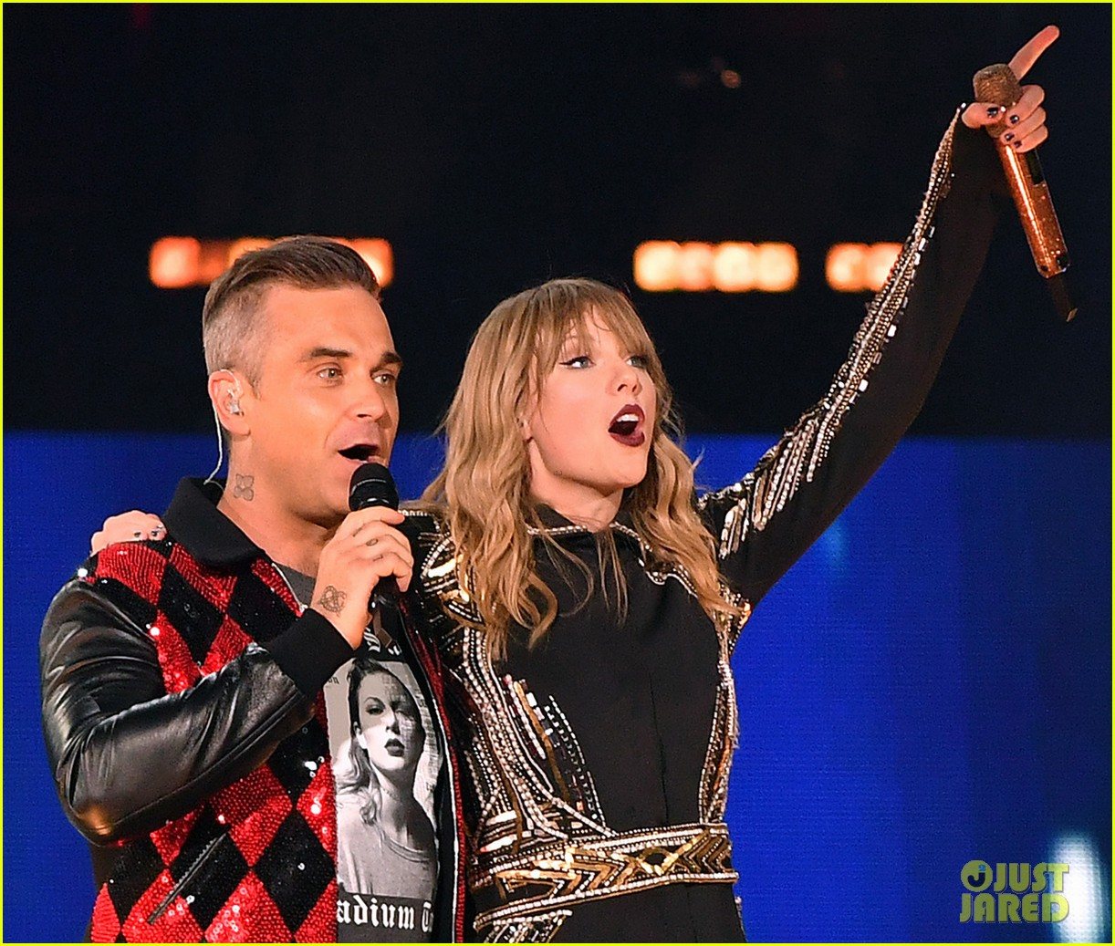 Image result for taylor swift, robbie williams