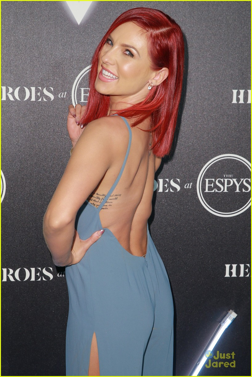 aly raisman victoria arlen sharna burgess heroes espys party 31