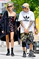 justin bieber and hailey baldwin cant stop smiling during nyc stroll 12