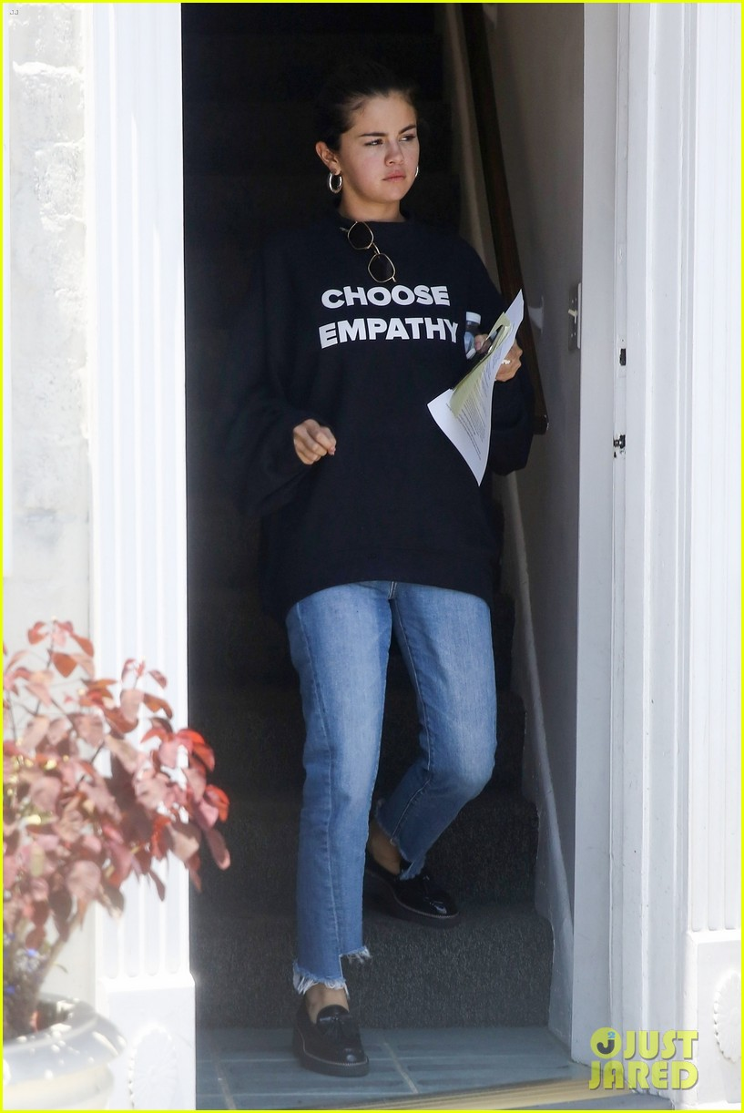 selena gomez choose empathy sweatshirt 01