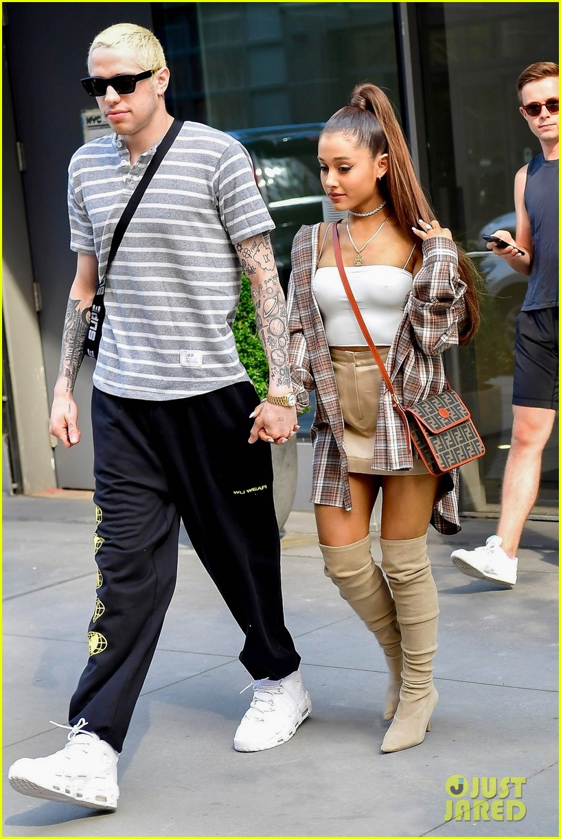 Ariana Grande & Pete Davidson Are Too Cute Together in ...