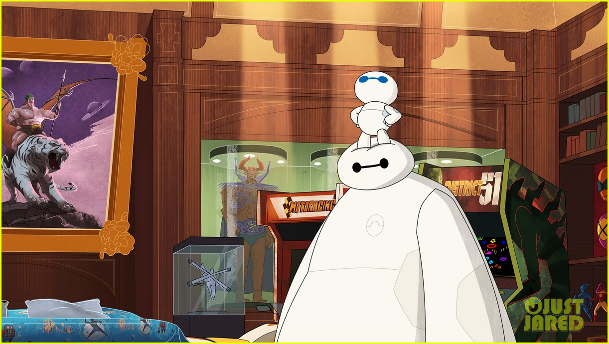 Big Hero 6 The Series Unveils Mini Max Photo 1174676 Big Hero 6 Television Pictures Just Jared Jr