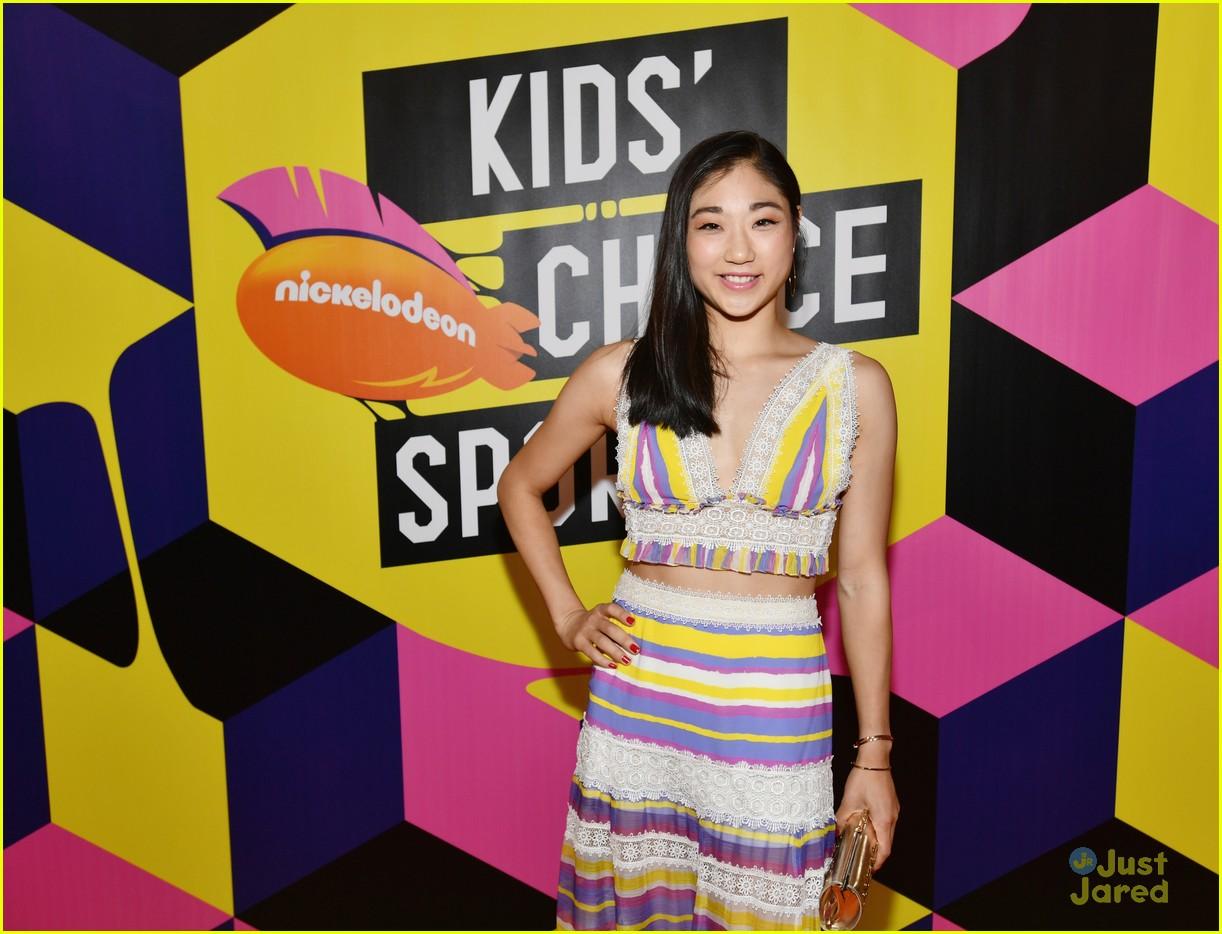 mirai nagasu shib sibs kids choice sports 17