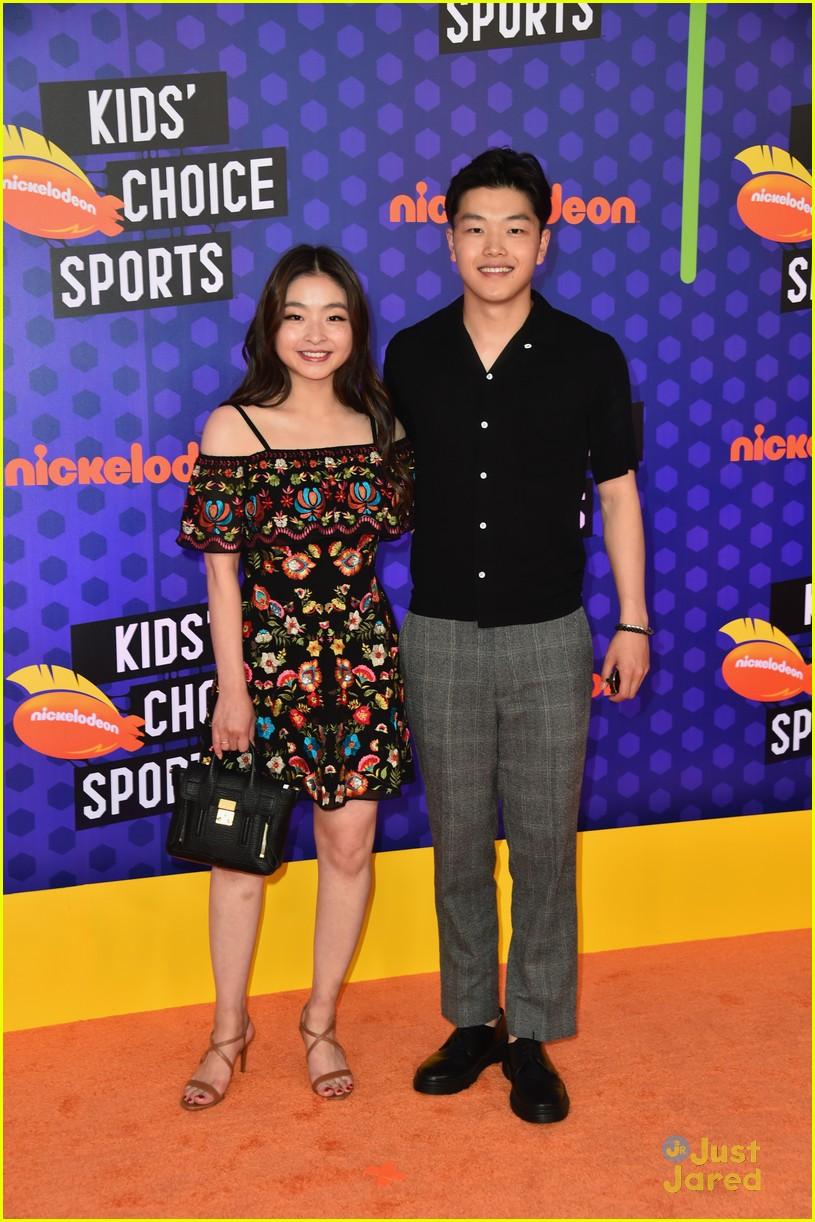 mirai nagasu shib sibs kids choice sports 23