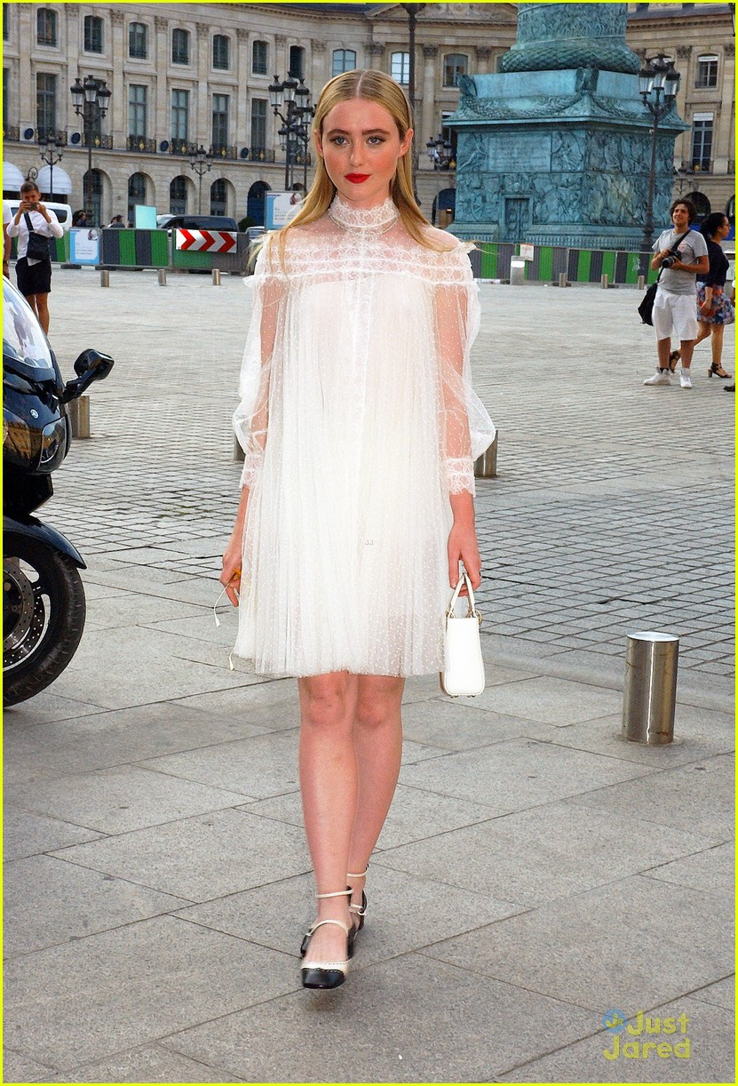 kathryn newton paris haute couture fashion week 08