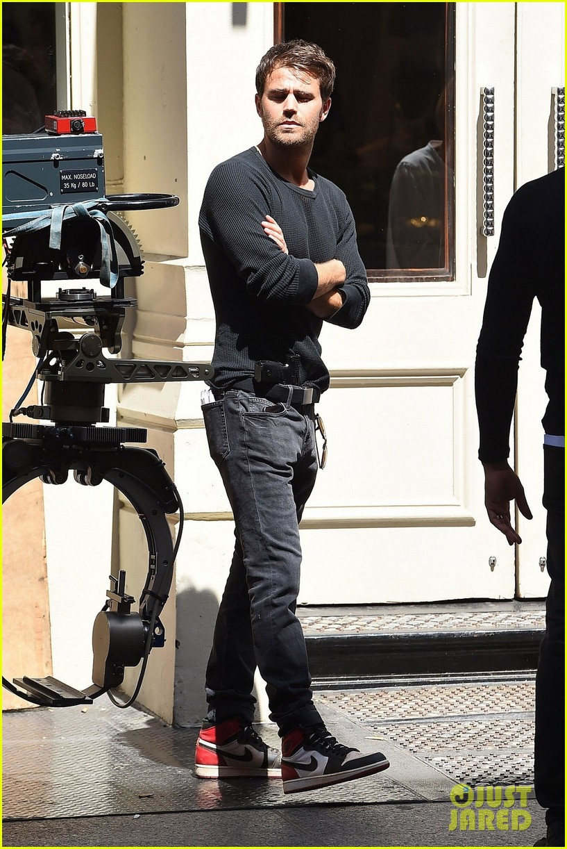 Paul Wesley Shoots a Scene for Upcoming Series 'Tell Me A ...