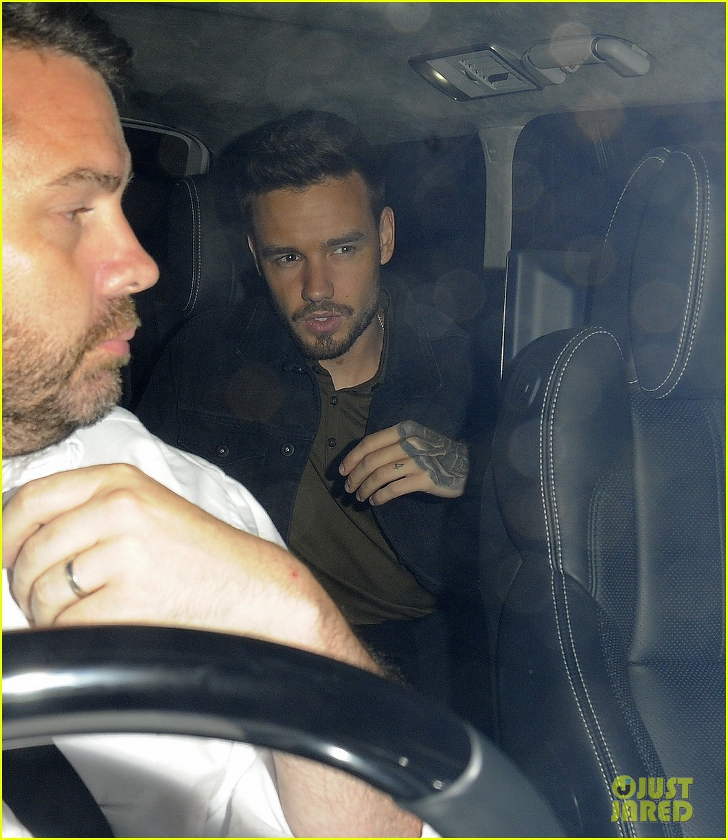 liam payne parties with drake at scorpion album launch party 01