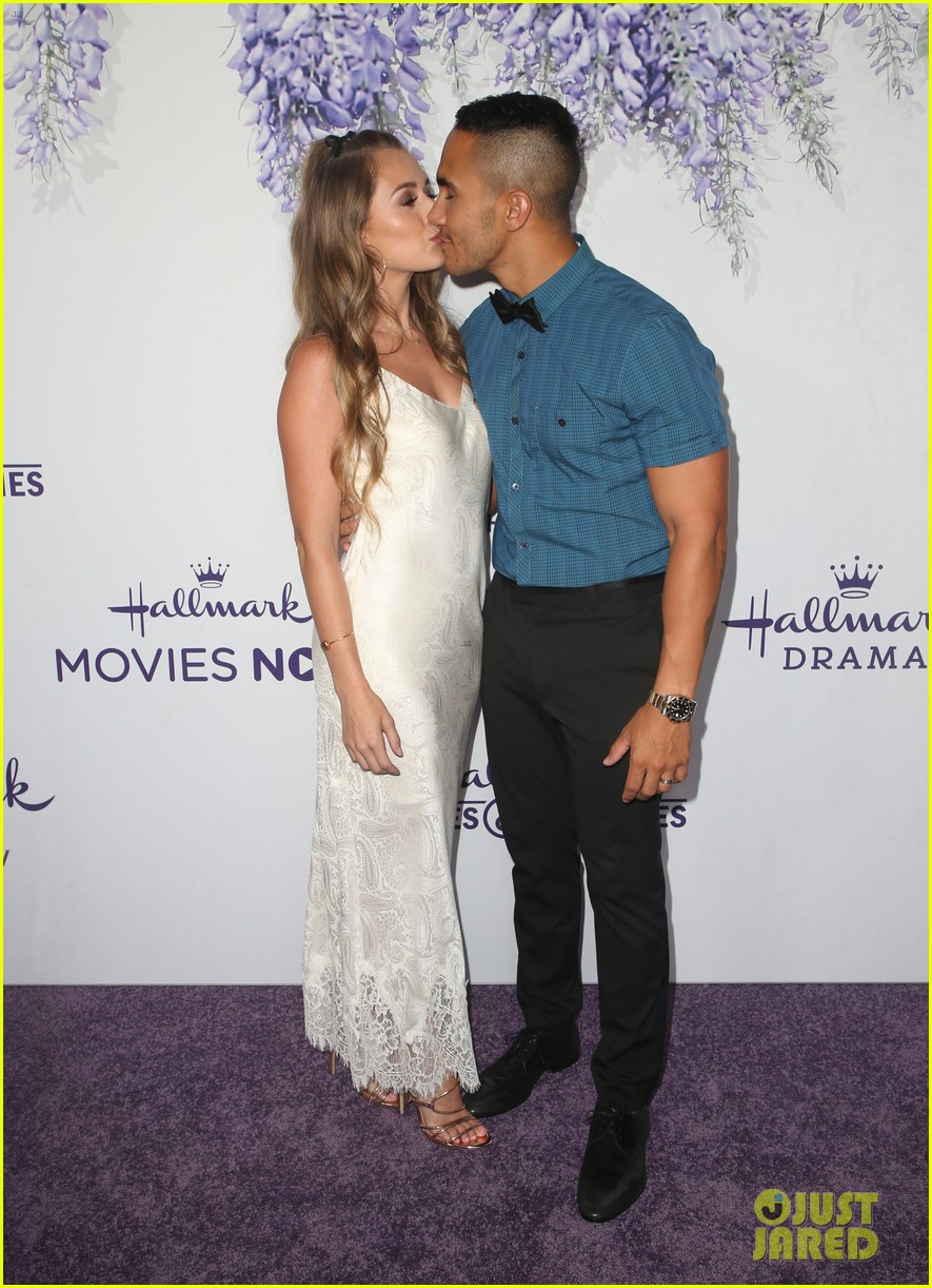 bailee madison carlos alexa penavega attend hallmark summer tca 12
