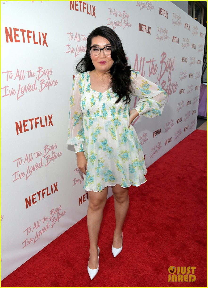 netflixs to all the boys ive loved before cast attends premiere 08