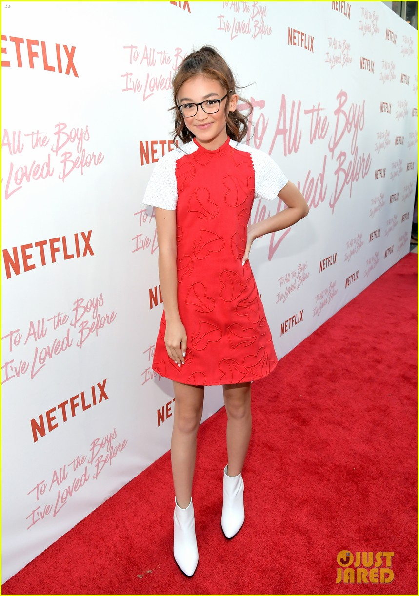 netflixs to all the boys ive loved before cast attends premiere 22