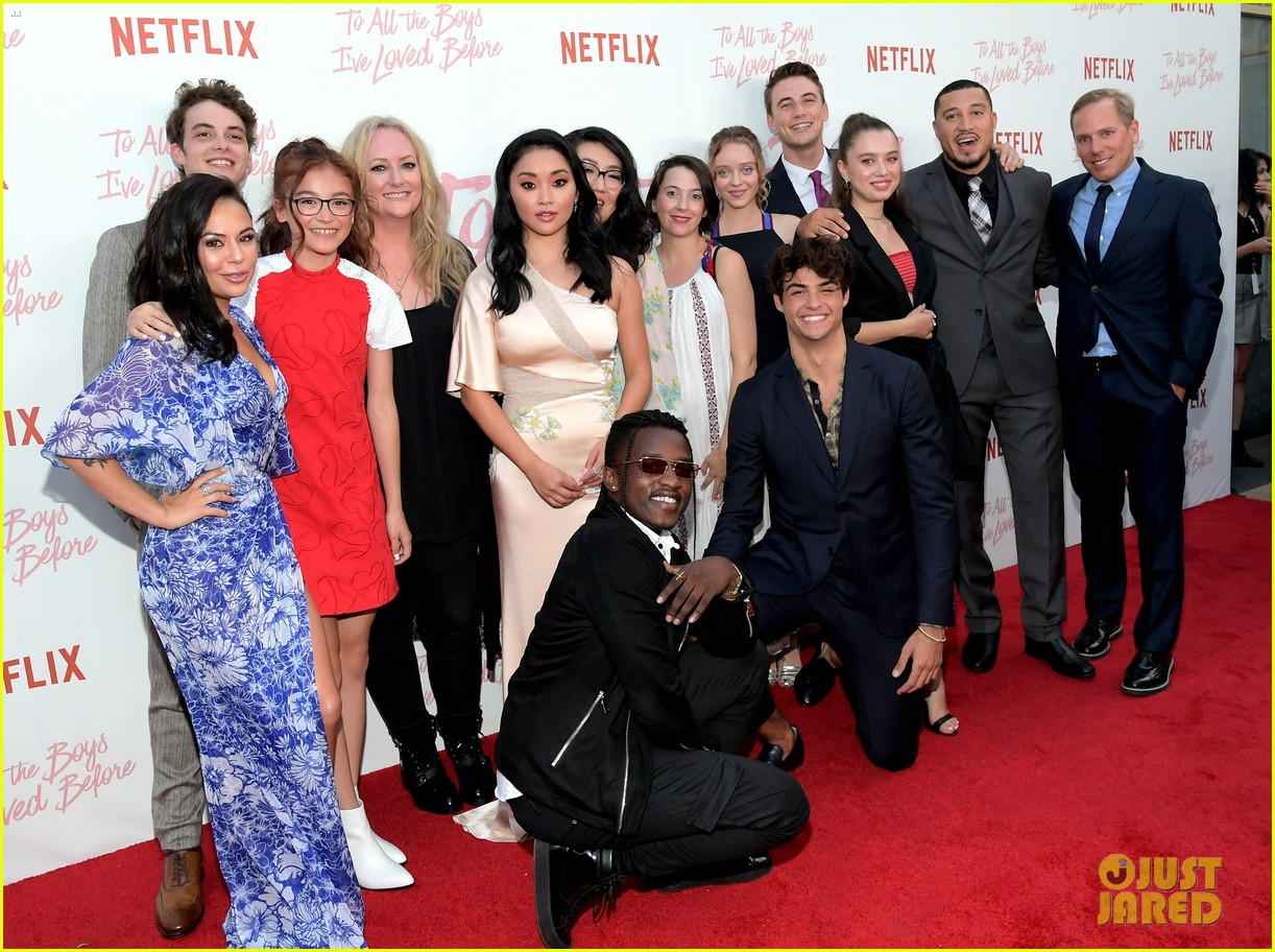netflixs to all the boys ive loved before cast attends premiere 44