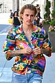 justin bieber hailey baldwin make one colorful couple in beverly hills 13