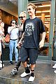 justin bieber gets a haircut with hailey baldwin by his side 05