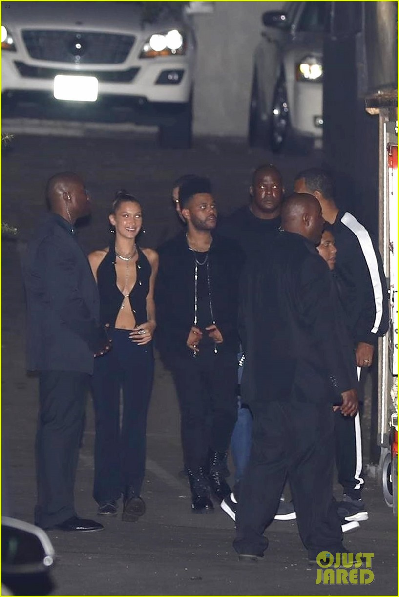 bella hadid and the weeknd party at kylie jenners 21st bithday bash2 02