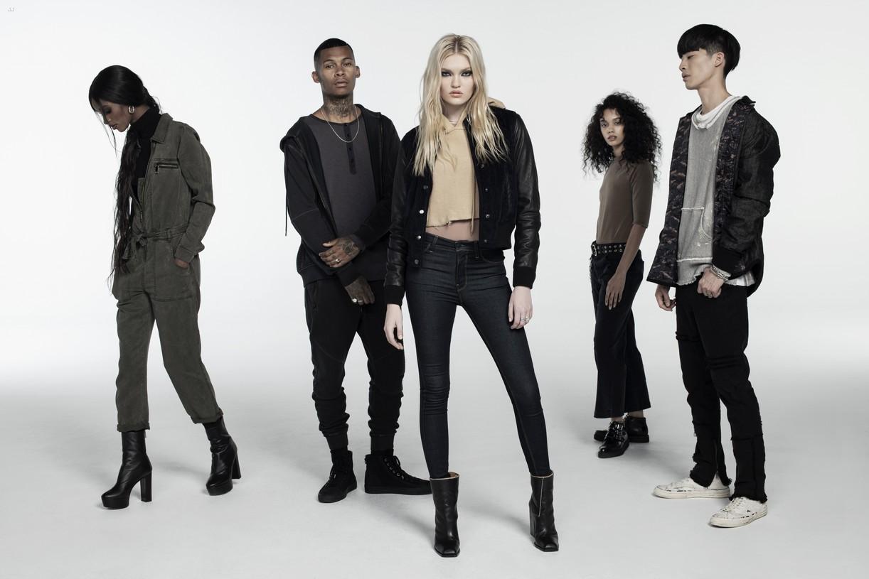 Amelia Gray Hamlin Stars in Hudson's New Fall Fashion