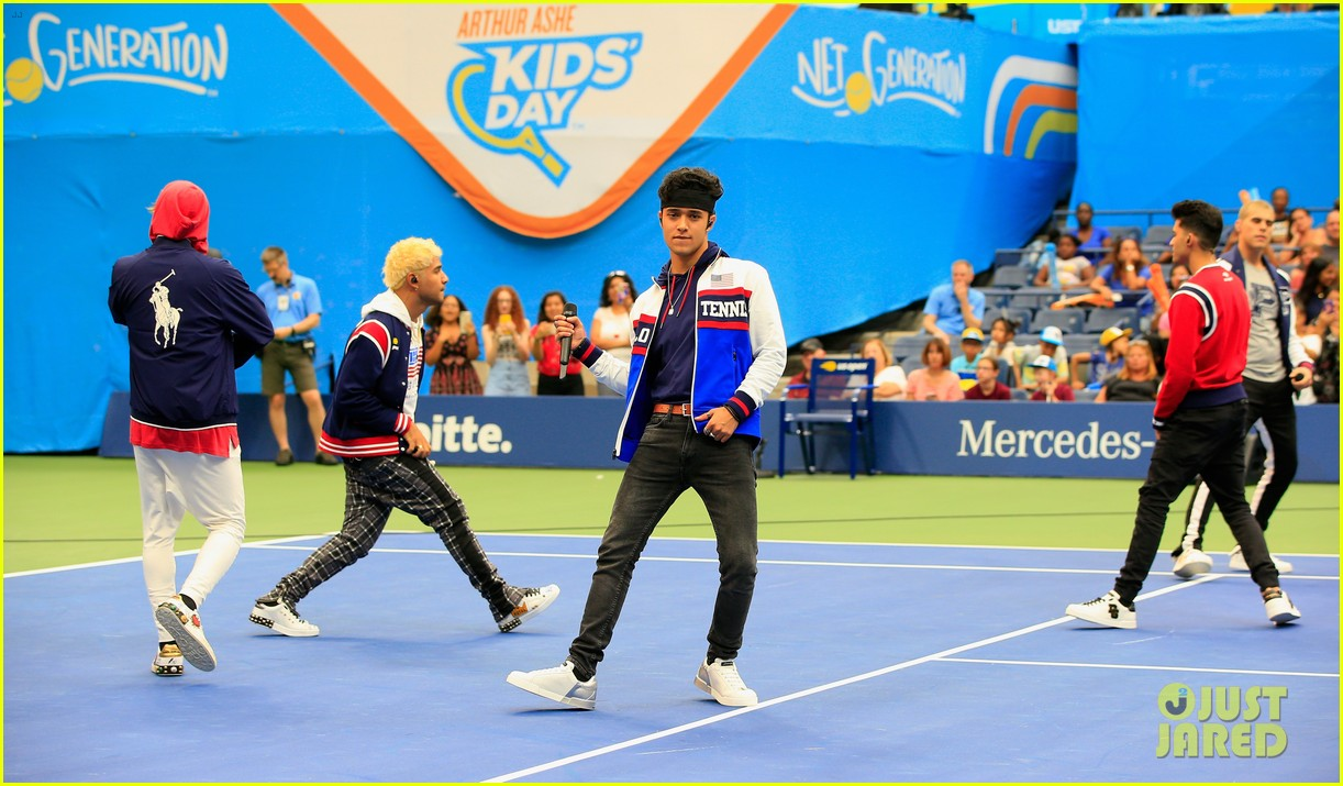in real life perform arthur ashe kids day 11
