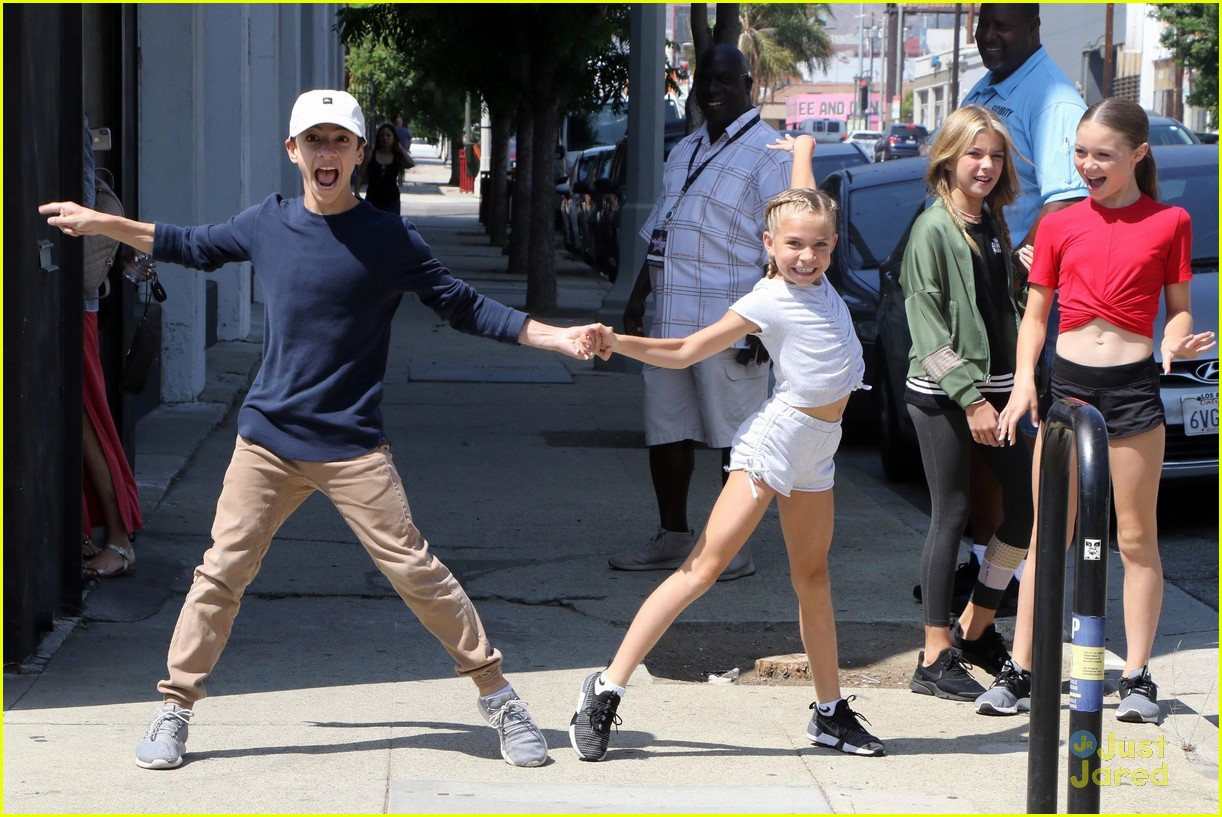 jake monreal kamri peterson dwts jr pros lunch dance moves 04
