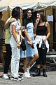 kendall jenner shows off her summer style in baby blue dress 01