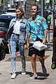 hailey baldwin wears denim outfit to church with justin bieber 33