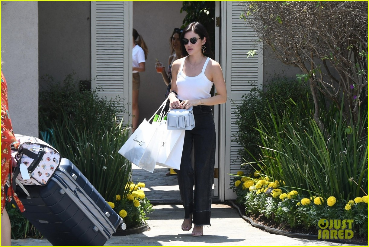 lea michele lucy hale day of indulgence 10