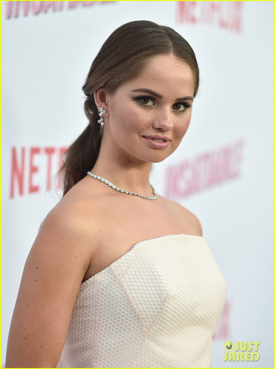 debby ryan and alyssa milano premiere insatiable in hollywood 16