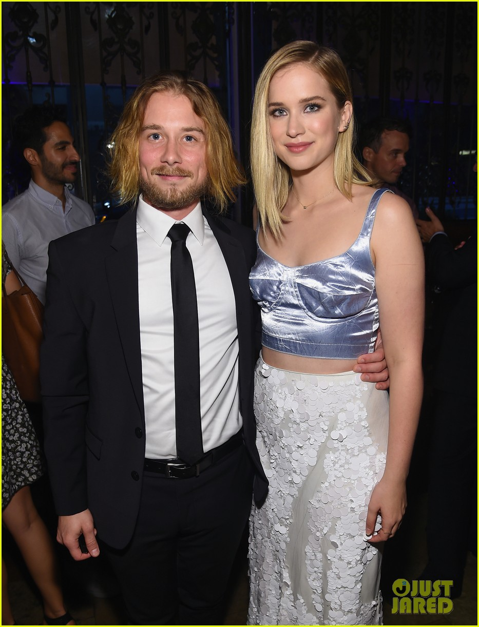 penn badgley elizabeth lail and shay mitchell look stylish at you series premiere 32