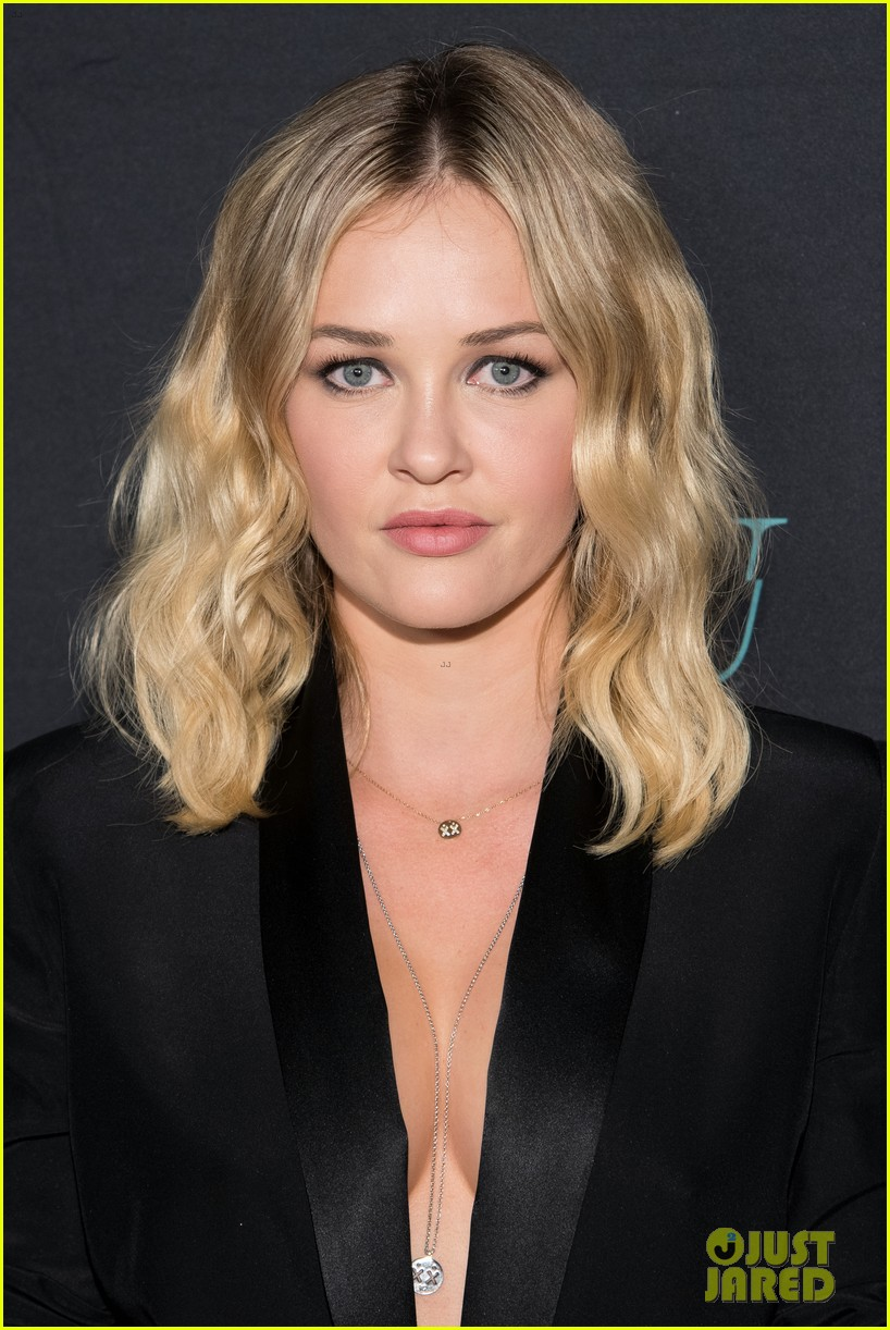 penn badgley elizabeth lail and shay mitchell look stylish at you series premiere 42