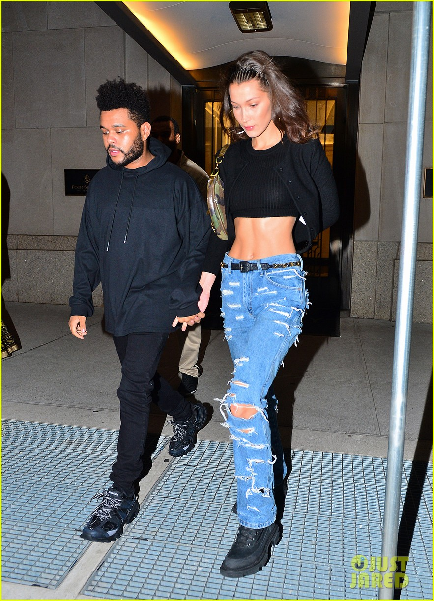 bella hadid the weeknd couple up in paris 05