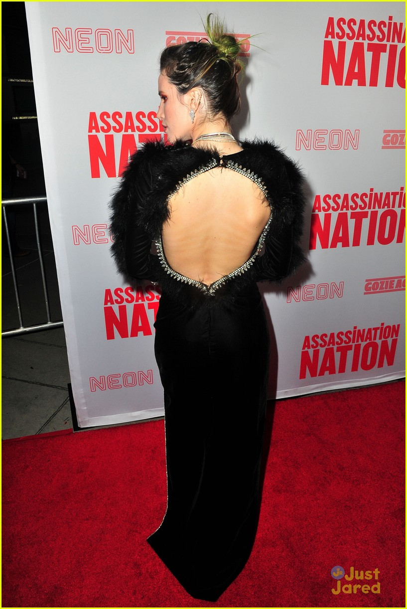 bella thorne mod sun kisses nation premiere 14