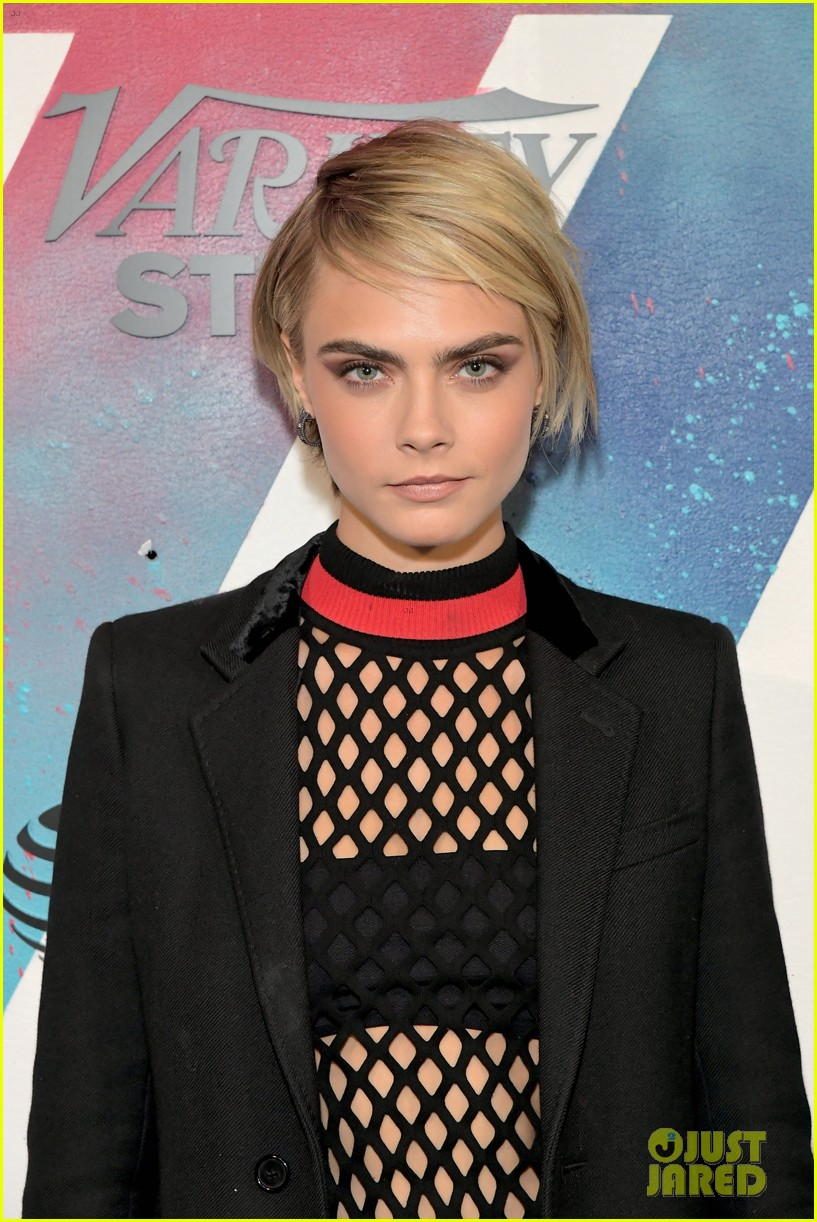 Ashley Benson Cara Delevingne Have A Movie At Tiff Photo