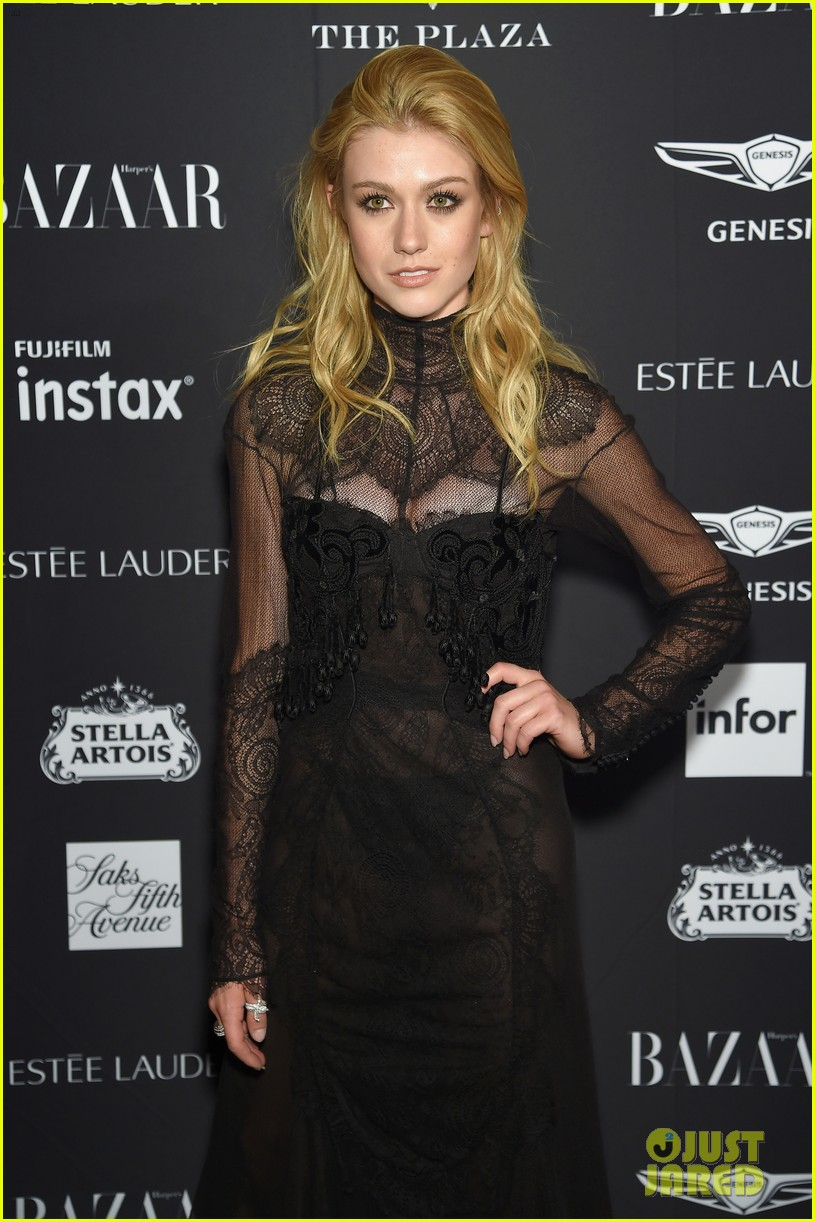 kaia and presley gerber join hayley kiyoko and more stars at harpers bazaar icons party 26