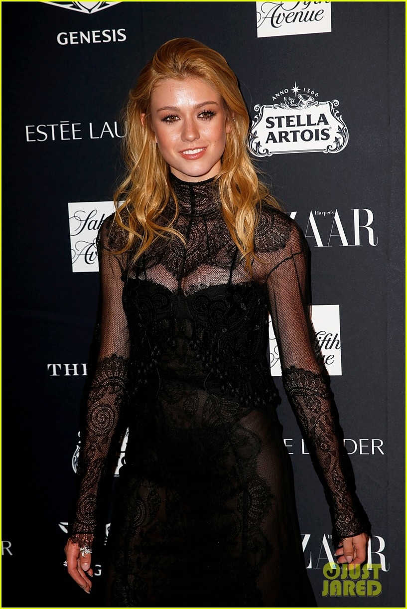 kaia and presley gerber join hayley kiyoko and more stars at harpers bazaar icons party 32