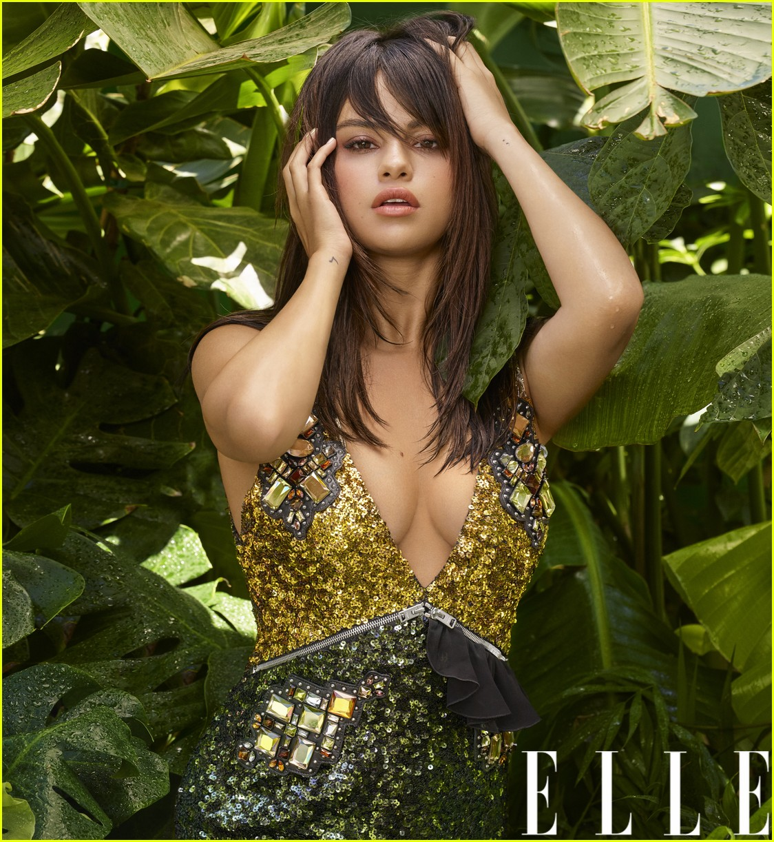 selena gomez elle october 05
