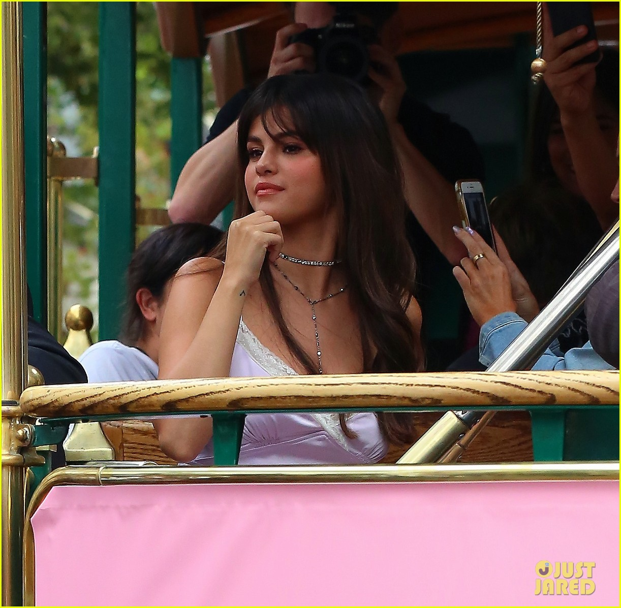 selena gomez arrives at coach pop up launch at the grove2 21