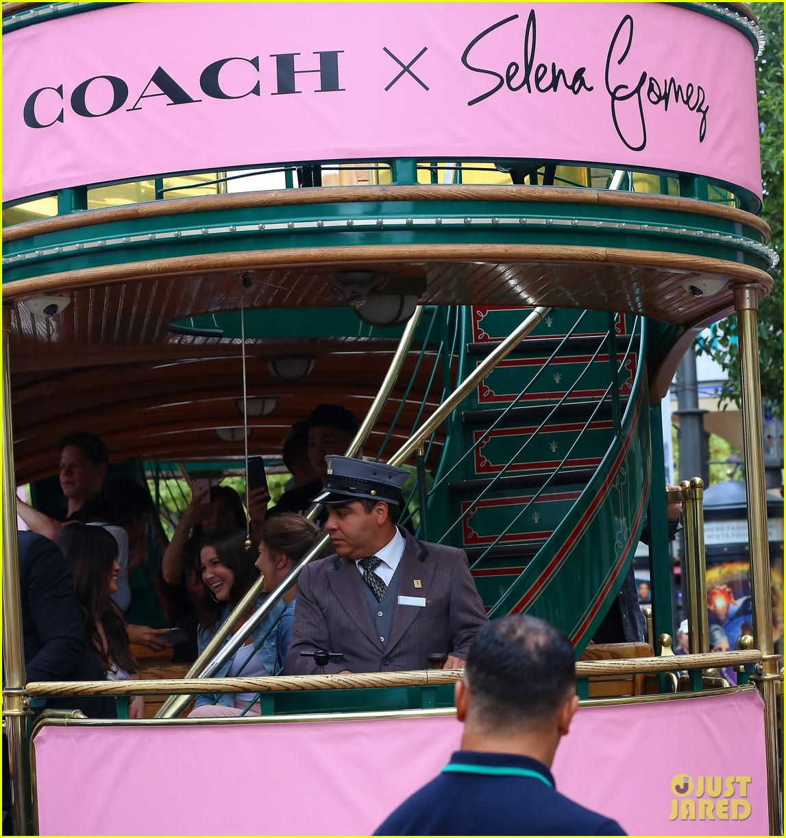 selena gomez arrives at coach pop up launch at the grove2 22
