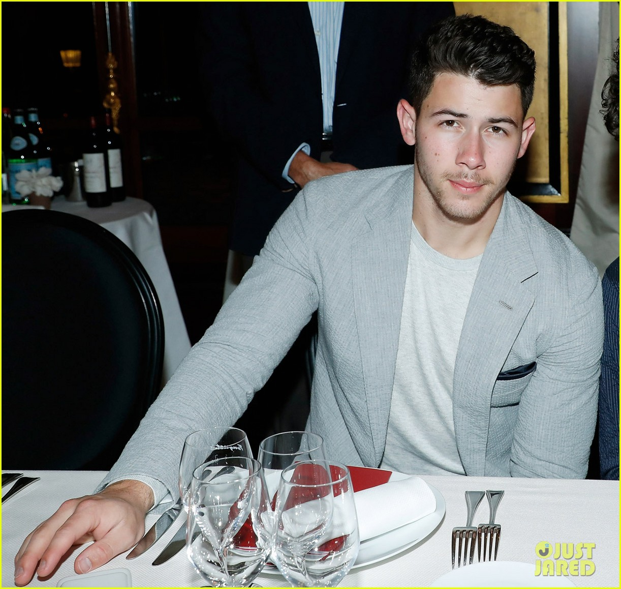 nick jonas and little brother frankie team up for ryder cup dinner in paris 06