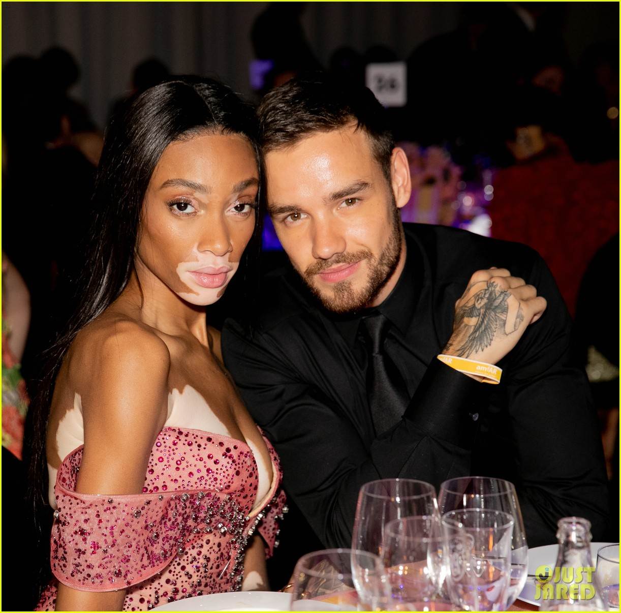liam payne winnie harlow cameron dallas attend amfar party 02