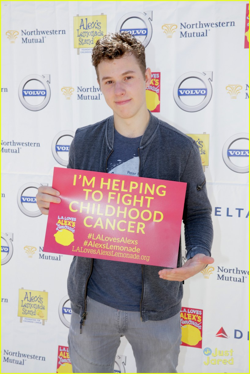 nolan gould alex lemonade stand event 01