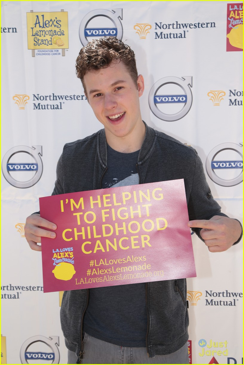 nolan gould alex lemonade stand event 06