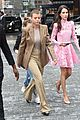 sofia richie ruffle pink dress kors show 08