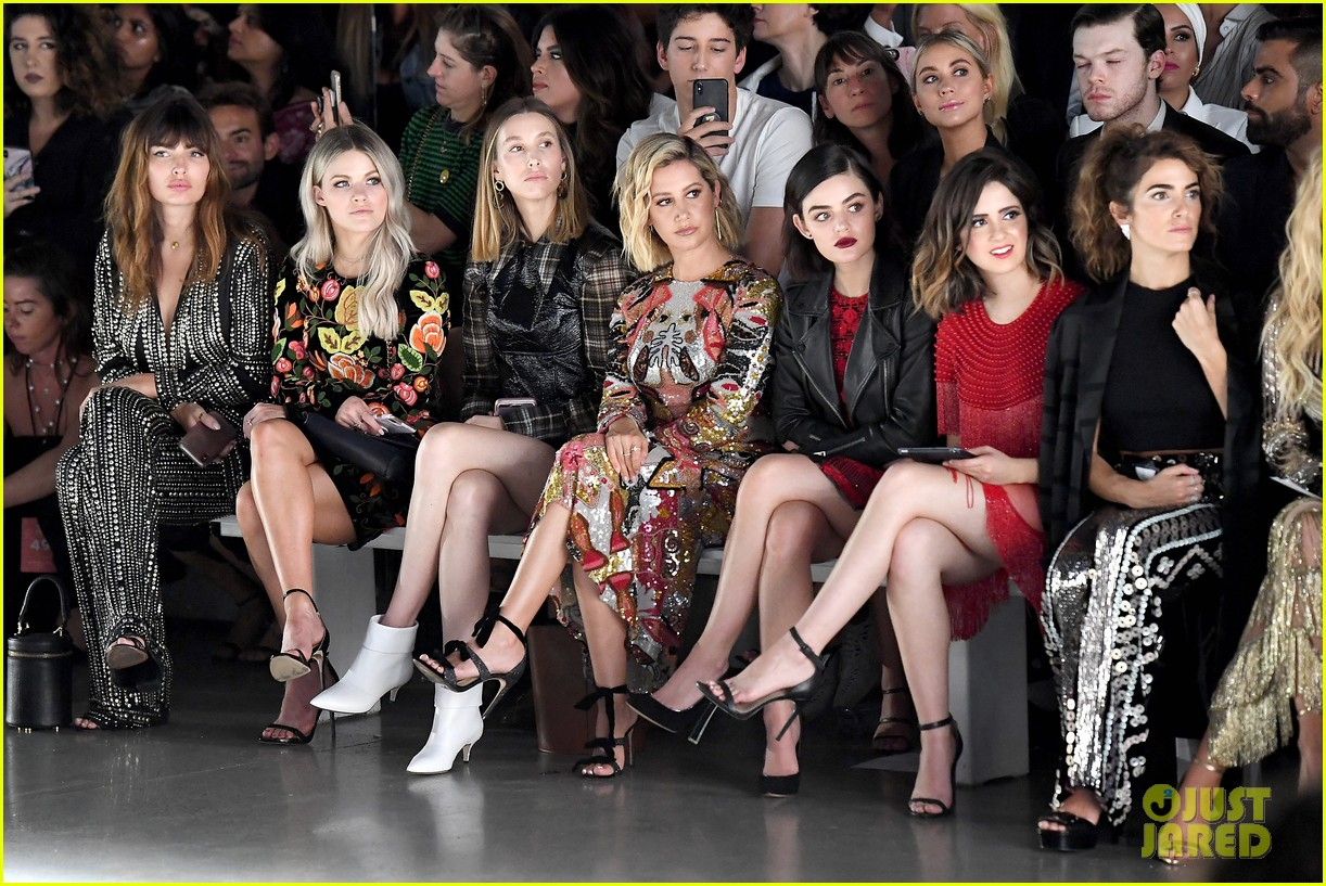 ashley tisdale lucy hale laura marano more watch naeem khan nyfw show 04