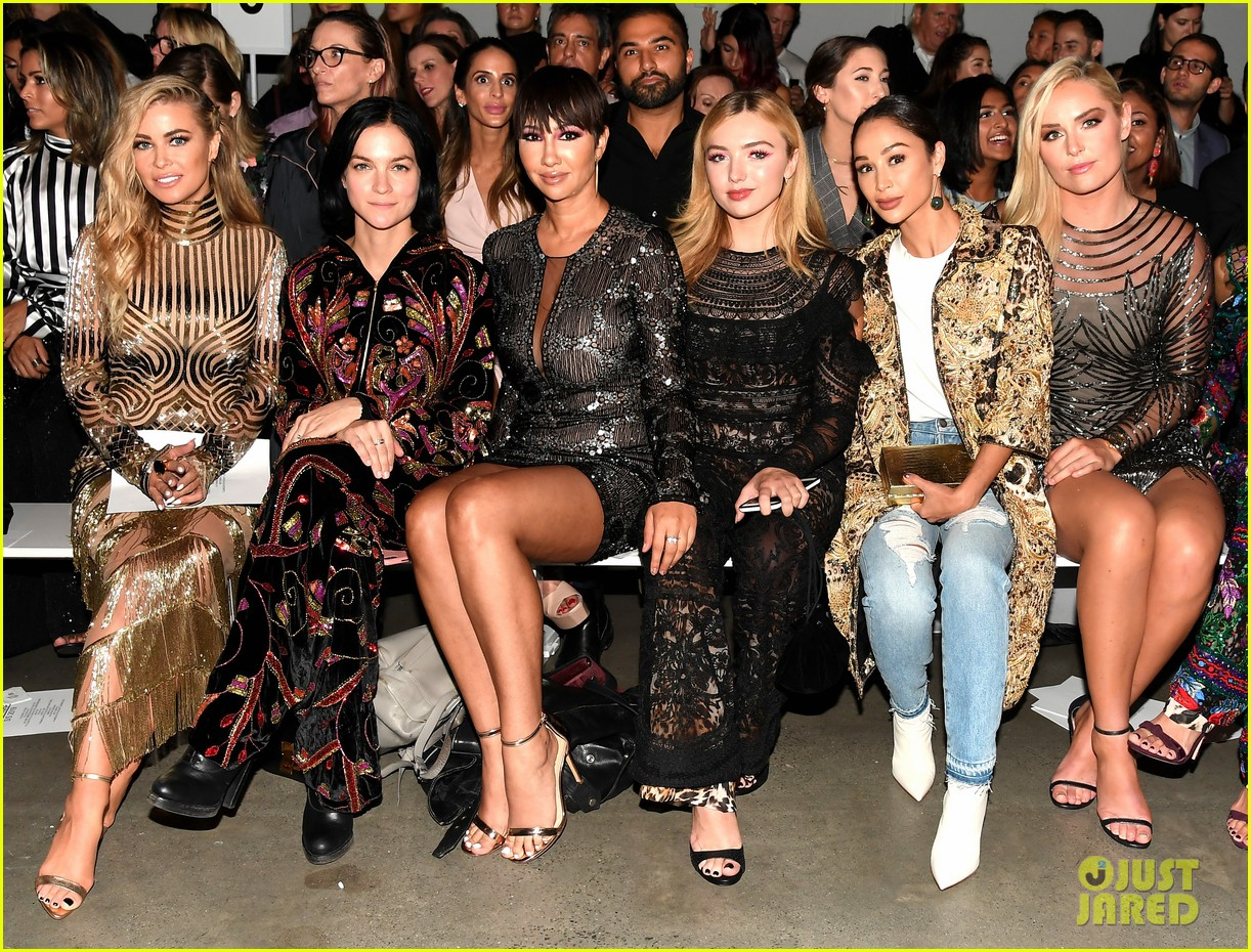 ashley tisdale lucy hale laura marano more watch naeem khan nyfw show 09