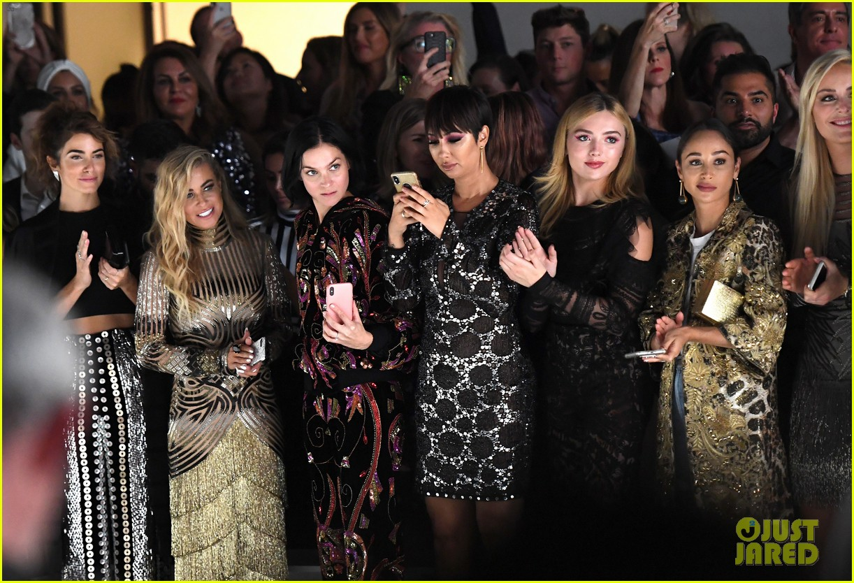 ashley tisdale lucy hale laura marano more watch naeem khan nyfw show 15
